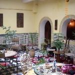 Patio salle à manger