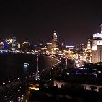Bund view from Sir Elly's Bar terrace