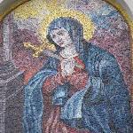Madonna in mosaic