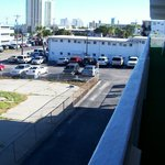 Parking area from balcony