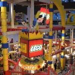 Lego land inside Mall of America