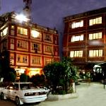 front view at night time
