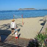 San Carlos Plaza Hotel - Access to the Beach