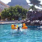 San Carlos Plaza Hotel - One of the Pools