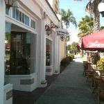 Located on the west end of Miami Avenue's shops in a 1920s building