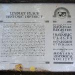 Historic District Info
