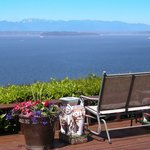 Enjoy the view from the deck or your room