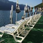sunning deck