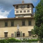 Villa Petraia from the lower terrace