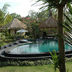 swimmingpool & bungalow