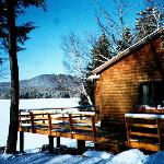 Winter Cabin Rentals Lakefront Access
