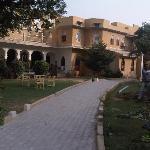 Phool Mahal Palace Courtyard View
