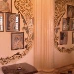 Phool Mahal Palace wall decoration