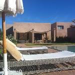 L'hotel vu de la piscine