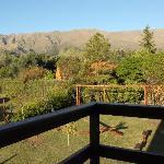 la vista desde el balcon de la habitacion