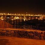 a view at night