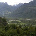 """a Cochamo: l'entrée de la """"vallée secrète"""" qui mène vers la"""
