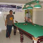 Pool Table & Activity Room