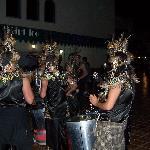 Carnival Dancers Outside Miami Ice