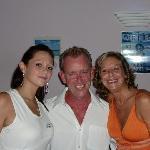 Alix, Alan and Sandra