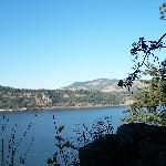 Columbia River from the lawn at Lakecliff
