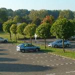 parking privé gratuit non gardé surveillé par caméras