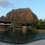 Bar, pool, Le Morne, reception