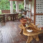 Veranda of Aito apartment