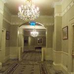 Hotel Hallway to Rooms