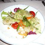 Salad was great too