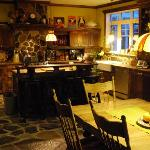 Kitchen where special breakfast are created