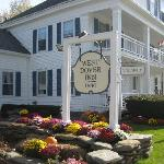 Inn and nice landscaping