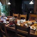 Frühstück bei Jean-Pierre