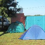 Unterkunft in Zelten