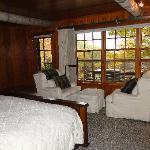 master bedroom in Chalet Cottage