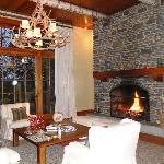 Chalet Cottage living Room