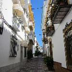 Calle Princesa and Calle Principe- where you will find La Villa Marbella