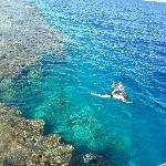 Private beach snorkeling area