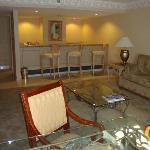 Living area Diamond Suite