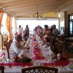 Wedding table at Oniro