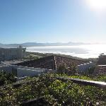 Aussicht von der Terrasse aus