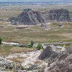 hiking the Badlands - just South of Wall