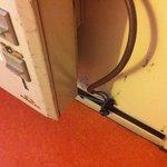 branchement et propreté du radiareur