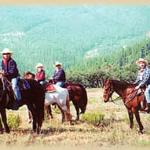 Enjoy high country horseback rides at Circle K Ranch