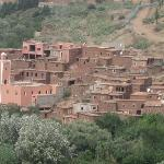 Nearby Berber village