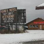Sign & Restaurant