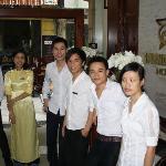 Staff in lobby