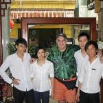 Me and Staff Trang tall guy on right