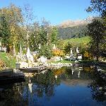 quelle spa resort: splendido giardino