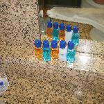 free shampoo/conditioner